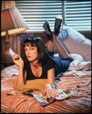 "Firooz Zahedi, Uma Thurman in ""Pulp Fiction"", 1994"