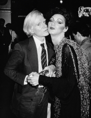 Ron Galella Andy Warhol and Holly Woodlawn, New York, 1978