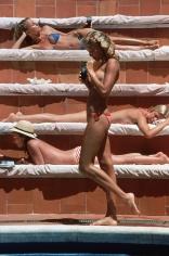 Slim Aarons, Catherine Wilke, Capri, 1980