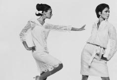 Bert Stern, Marisa Berenson and Jennifer O'Neill, VOGUE, 1965