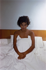 Phil Stern, Sophia Loren Sitting Up in Bed