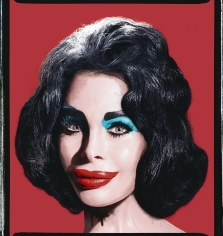 David LaChapelle, Amanda Lepore as Andy Warhol's Elizabeth Taylor, 2007