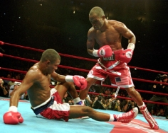 George Kalinsky, Bernard Hopkins, September 29, 2001