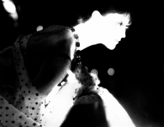 Lillian Bassman Barbara Mullen aboard Le Bateau Mouche, Chanel Advertising Campaign, Paris, 1960