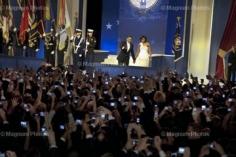Elliot Erwitt, Barack and Michelle Obama,  The Home States Inaugural Ball, Washington, DC, January 20, 2009
