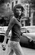 Ron Galella, Windblown Jackie, New York, 1971