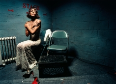David LaChapelle,  Whitney Houston: Closed Eyes, New York, 2000