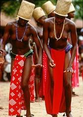 Carol Beckwith and Angela Fisher, Klama Dance of the Krobo Initiates, Ghana, 1992
