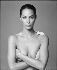 Patrick Demarchelier, Christy and Mouse, New York, 1999