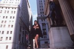 Harry Benson, Donna Karan on Wall Street, New York, 1996