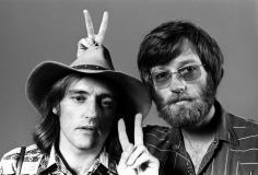 Harry Benson, Easy Rider: Dennis Hopper and Peter Fonda, 1969
