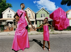 David LaChapelle, This is my House, Alek Wek in Christian Lacroix, New York, Paris Vogue, 1997