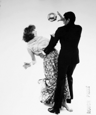 Bert Stern, Suzy Parker and Omar Sharif, VOGUE, 1961