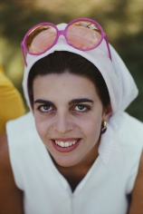Slim Aarons, Christina Onassis, 1968: The daughter of Greek shipping tycoon Aristotle Onassis at Palm Beach