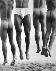 Herb Ritts, Jump, Paradise Cove, 1987
