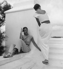 Genevieve Naylor, Models wearing Clare Potter and Dorothy Cox, Harper's Bazaar, Bermuda, 1947