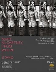Mary McCartney, Exhibition Invitation