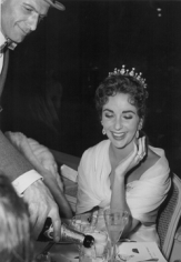 Edward Quinn,  Elizabeth Taylor at the Cannes Film Festival, France, 1957