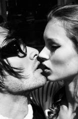 Stephanie Pfriender Stylander, Kate Moss and Marcus Schenkenberg, Kiss Me Kate, Harper's Bazaar Uomo, New York, 1992
