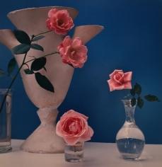 Horst P. Horst, Roses, Giacometti Vase, circa 1985
