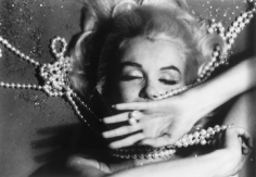 Bert Stern, Marilyn Monroe: From The Last Sitting, 1962 (Pearls, hand over face)