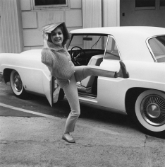 Avery, Debbie Reynolds Having a Playful Moment, 1960