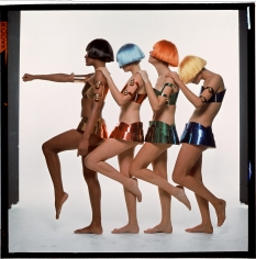 Bert Stern, Paris Collections, Courreges, VOGUE, 1967