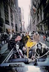 Melvin Sokolsky, Twiggy Parade, New York, 1967