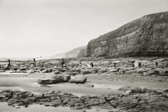 Priscilla Rattazzi, Surfers at Southerndown, Wales, UK, 2009