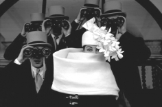 Frank Horvat, Givenchy Hat (B), Paris, 1958
