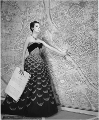 Louise Dahl-Wolfe Mary, Jane Russell, Plan de Paris, 1951