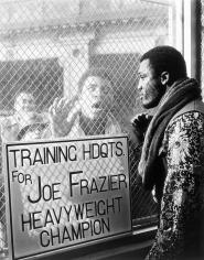 George Kalinsky, Muhammad Ali and Joe Frazier, Madison Square Garden, March 8, 1971