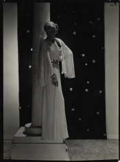 George Hoyningen-Huene, White Dress with Stars, 1934
