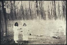 Deborah Turbeville, Women In The Woods: Isabella and Ella in Blumarine, VOGUE Italia, Montova, Italy, 1977