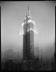 Len Prince, Empire State Building, Motion Landscape, New York City, 2001