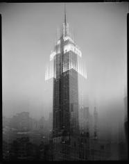 Len Prince, Empire State Building, Motion Landscape, New York City, 2001