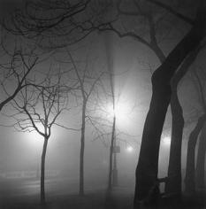 Andre de Dienes, Fog, Paris at Night 1936
