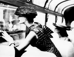 Lillian Bassman, More Fashion Mileage Per Dress: Barbara Vaughn in a dress by Filcol, New York. Harper's Bazaar, 1956