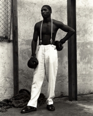 Kurt Markus, Boxer, Havana, Cuba, Emporio Armani, 1993