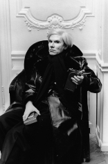 Helmut Newton, Andy Warhol, Paris, 1976