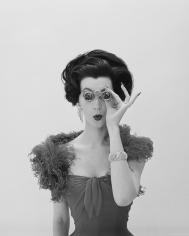 William Helburn, Dovima with Opera Glasses, Corday, circa 1961