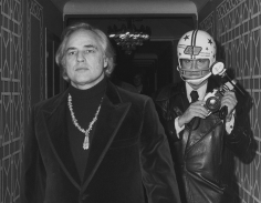Ron Galella, Marlon Brando and Ron Galella, New York, 1974