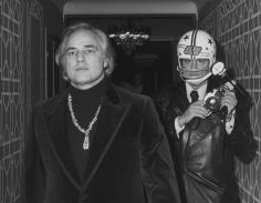 Ron Galella, Marlon Brando and Ron Galella, New York, 1974