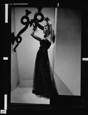 Horst, Lud in Chanel Dress, Paris, VOGUE, 1938