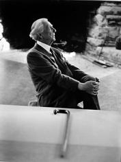 Bert Stern, Frank Lloyd Wright, 1954