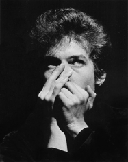 Daniel Kramer, Bob Dylan Playing Harmonica at Lincoln Center, 1964
