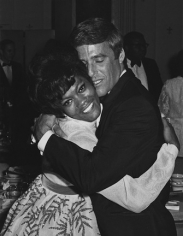 Ron Galella, Dionne Warwick and Burt Bacharach, Pierre Hotel, New York, 1968