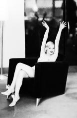 Ellen von Unwerth,  Drew Barrymore Stretching, New York, 1993