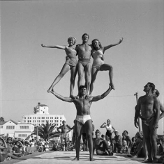 Andre de Dienes, Muscle Beach, California 1953
