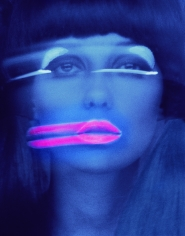 Melvin Sokolsky, Lip Streaks (Donna Mitchell), New York, 1967